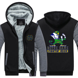 Notre Dame Fighting Irish Hoodie/Jacket - The Force Gallery