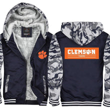 Clemson Tigers College Hoodie Jacket - The Force Gallery