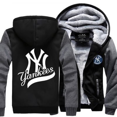 New York Yankees Baseball Hoodie Jacket - The Force Gallery