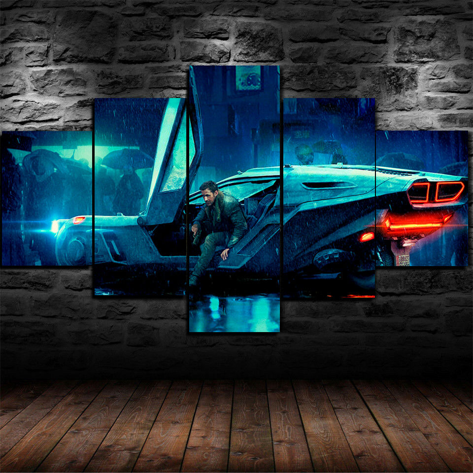 Bladerunner 2049 Movie Five Piece Canvas Wall Art Home Decor Multi Panel 5