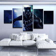 Black Panther Movie Five Piece Canvas - The Force Gallery