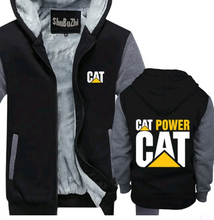 Caterpillar Equipment Hoodie Jacket - The Force Gallery