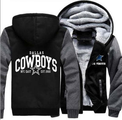 Dallas Cowboys Football Hoodie Jacket - The Force Gallery