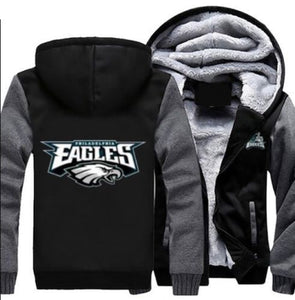 Philadelphia Eagles Football Hoodie Jacket - The Force Gallery