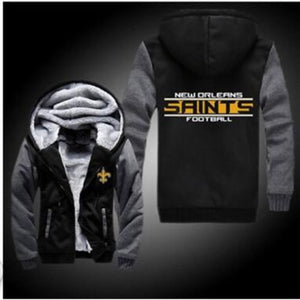 New Orleans Saints Football Hoodie Jacket - The Force Gallery