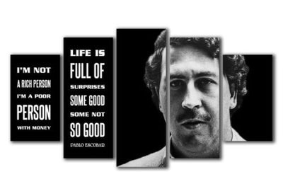 Pablo Escobar Quote Drug Kingpin Canvas - The Force Gallery