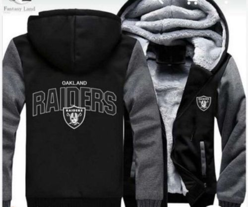 Oakland Raiders Hoodie Jacket - The Force Gallery