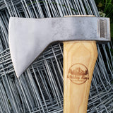 "Whiskey River Edition Hudson Bay Camp Axe - 19"" - Badger Claw Leatherworks"