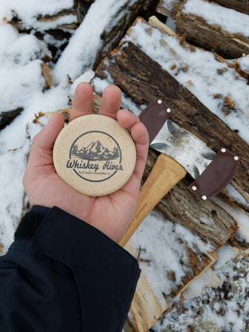 Whiskey River American Pioneer Sharpening Puck