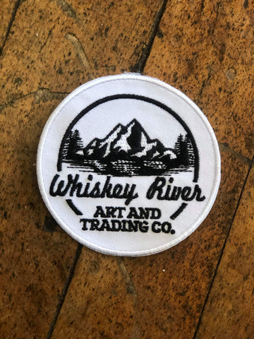 Whiskey River Sew on Patches
