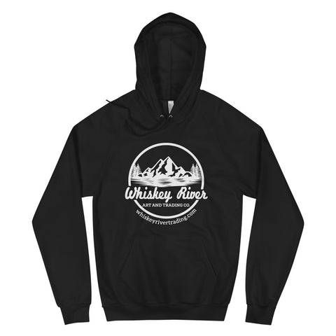 Black Whiskey River Pull Over Hoodie