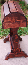Classic Wood Saddle Stand in solid pine