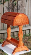 Classic Wooden Saddle Stand / Traditional Cherry