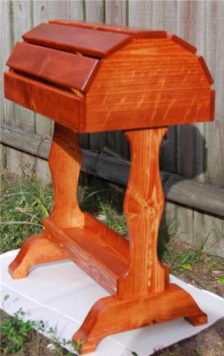 Classic Wooden Saddle Stand / Traditional Cherry / Free Shipping! - Greentrunksnmore