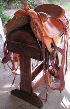 Wooden Saddle Stand / Fits English or Western Saddle/natural finish / FREE SHIPPING! - Greentrunksnmore
