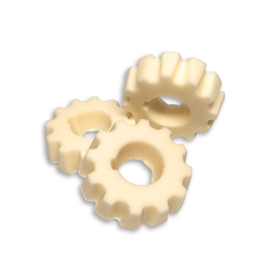 Chocolate Cogs - White - Case of 50