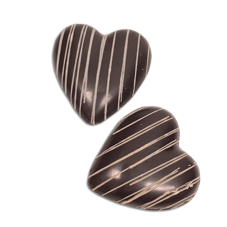 Hearts of Gold — Raspberry Chocolate