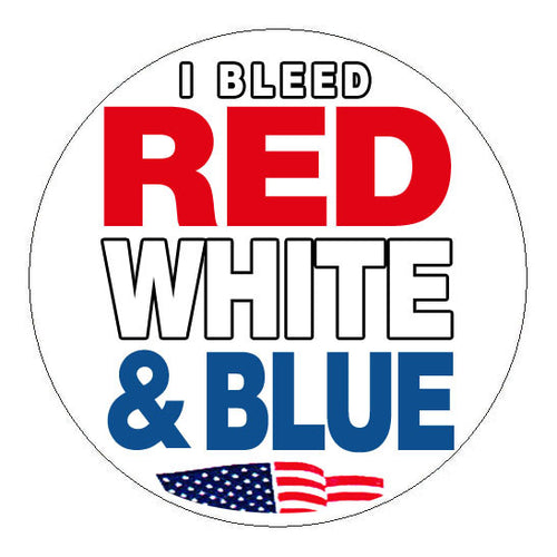 Bleed American Hard Hat Sticker - 2 inch Circle