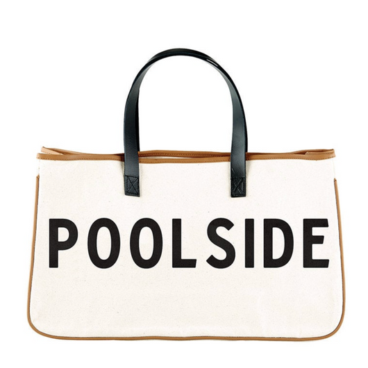 Poolside Canvas Tote