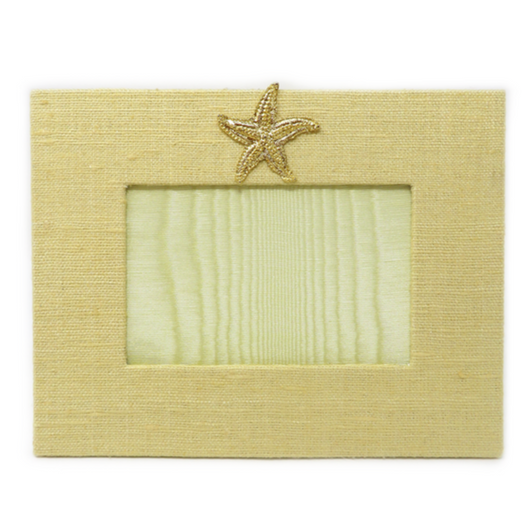 Horizontal Frame with Starfish Medallion
