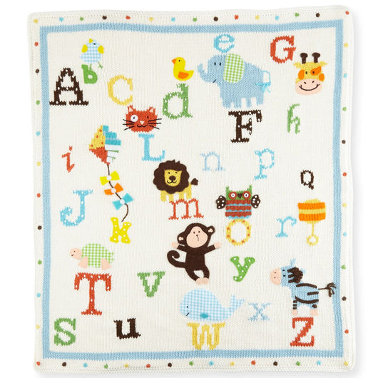 ArtWalk Alphabet Soup Blanket