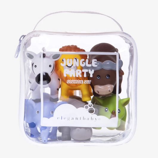 Elegant Baby Jungle Party Squirties Set