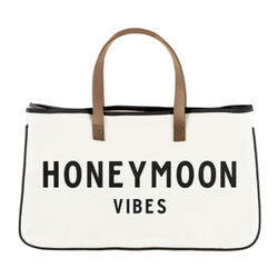 Honeymoon Canvas Tote