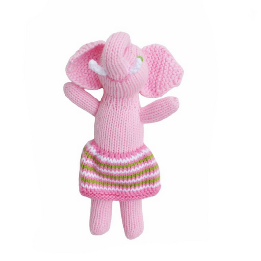 Blabla Girl Elephant Rattle