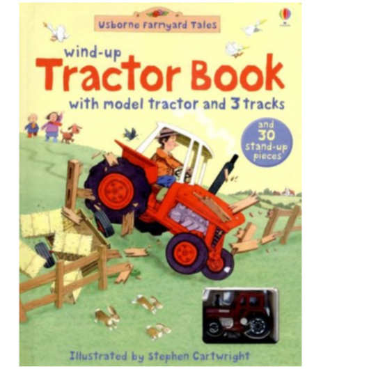 Wind-Up Tractor Book