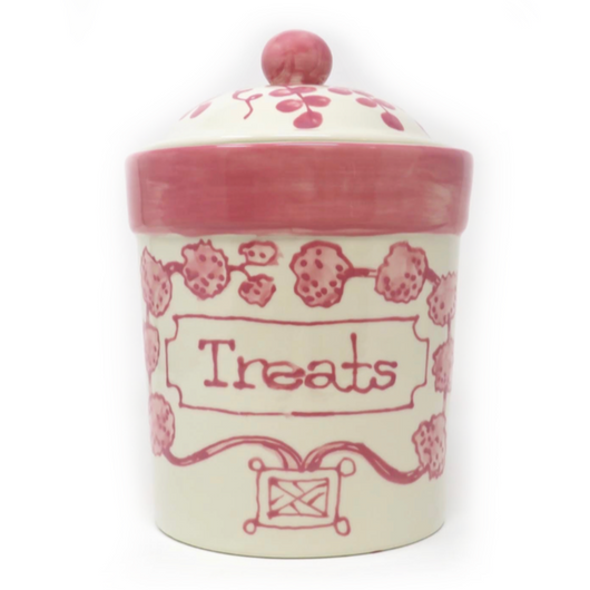 Pink Treat Jar