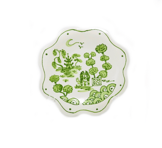 Green Puppy Plate