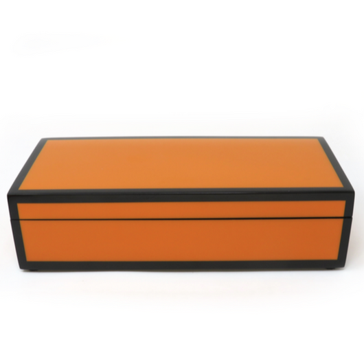 Orange Pencil Box