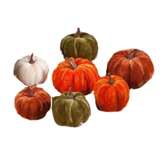 Velveteen Pumpkin in Bag (7)