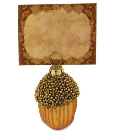 Gold Acord Place Card Holder