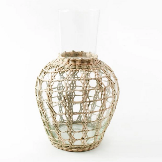 Seagrass Carafe Pitcher