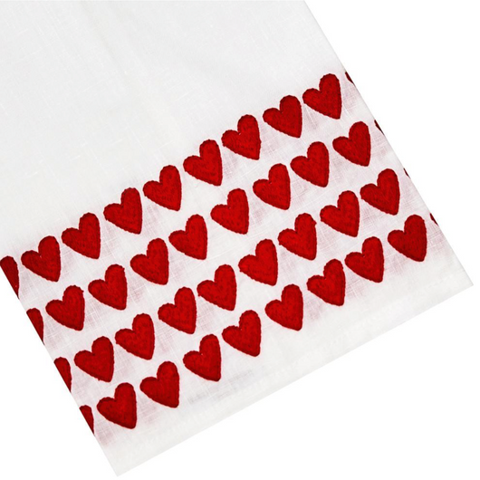 Full Hearted Tip Towel