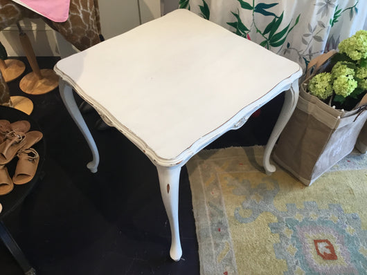 White table