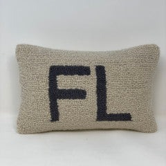 Florida Throw Pillow - 8 x 12