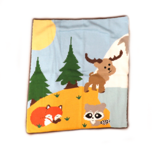 Forest Animals Blanket