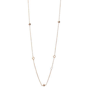Baori All Season Necklace  - Rose Gold Vermeil