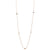 Baori Lambi Versatile Necklace - Rose Gold Vermeil