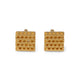 HIVE CUFFLINKS  18ct Gold Vermeil