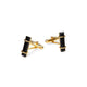 URBAN CUFFLINKS  Black Onyx