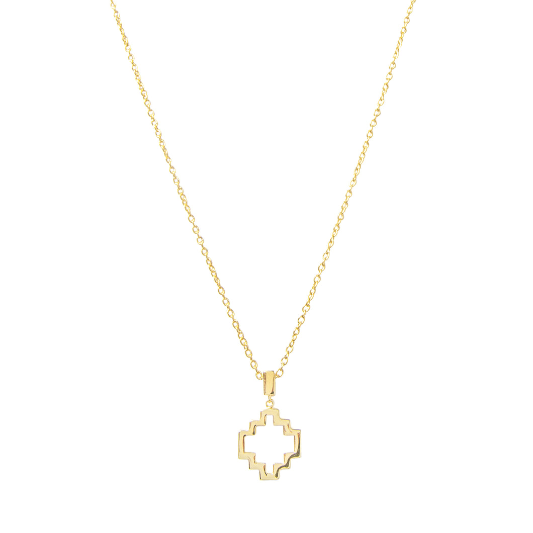 Baori Outline Pendant Necklace