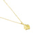 Baori One Pendant Necklace - 18ct Gold Vermeil