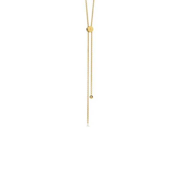 Necklace - LOGO CHAIN NECKLACE </br> 18ct Gold Vermeil