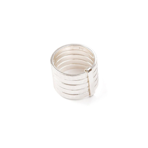 5Stack Ring  18ct Gold Vermeil
