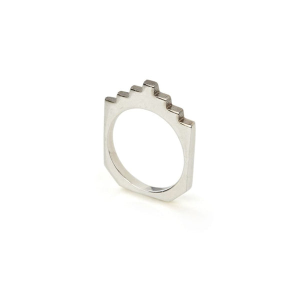 Ring - HIVE STACK RING </br> Sterling Silver