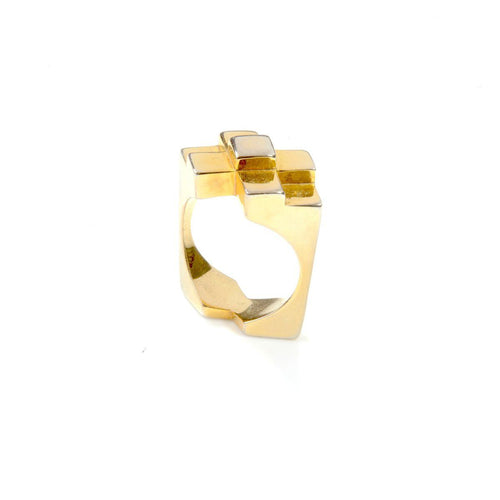 Ring - ORIGINAL ICON RING </br> 18ct Gold Vermeil