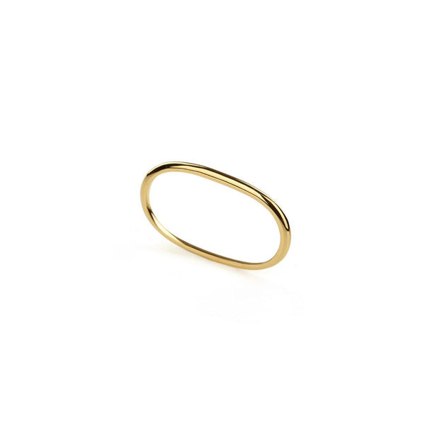 Ring - PURE DOUBLE RING </br> 18ct Gold Vermeil